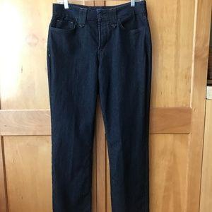 NWT NYDJ LIFT-TUCK Straight Leg Jeans SZ 10
